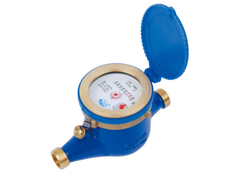 Rotary Vane Wheel Industrial Water Meters Dry Dial Remote Reading